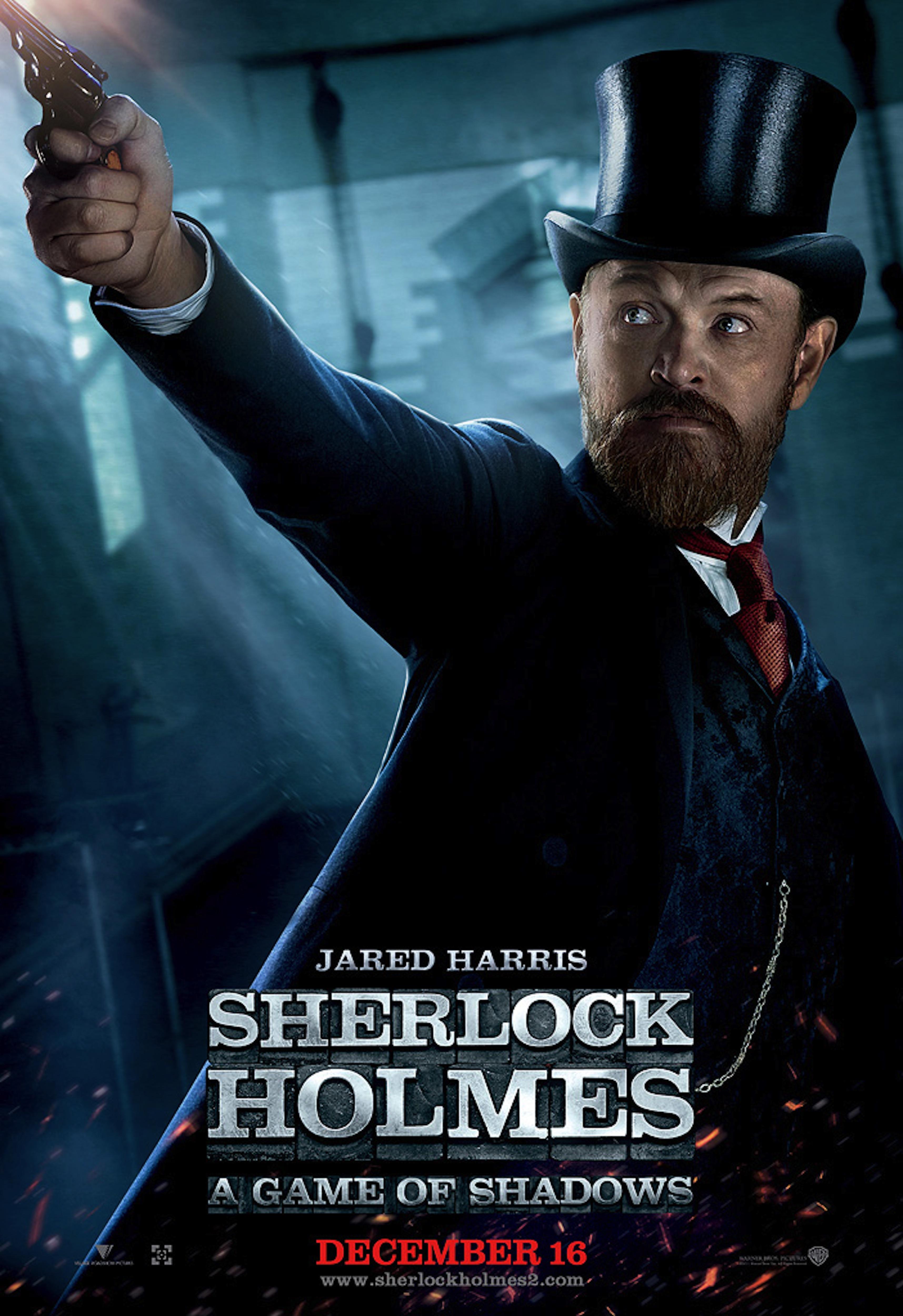 Sherlock Holmes Movie Sherlock Holmes A Game Of Shadows Movie Poster