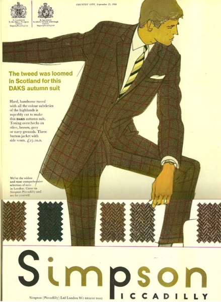 Simpson Tweed Ad