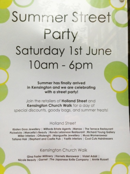 summer street party!