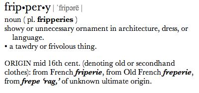 Frippery