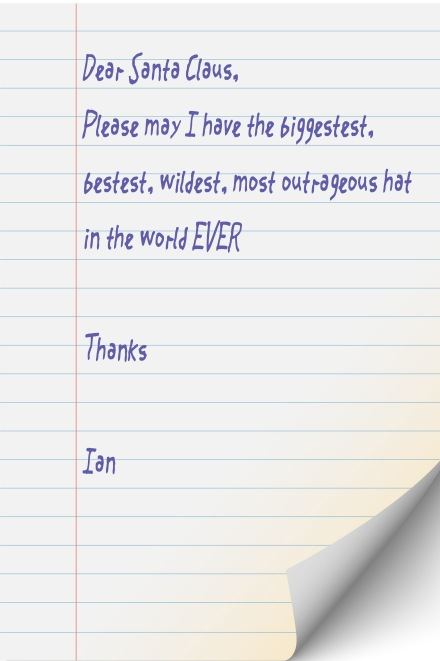 Ian's Letter