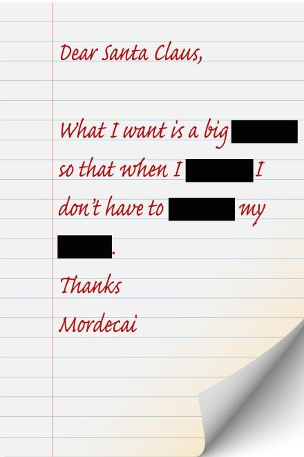Mordecai's letter