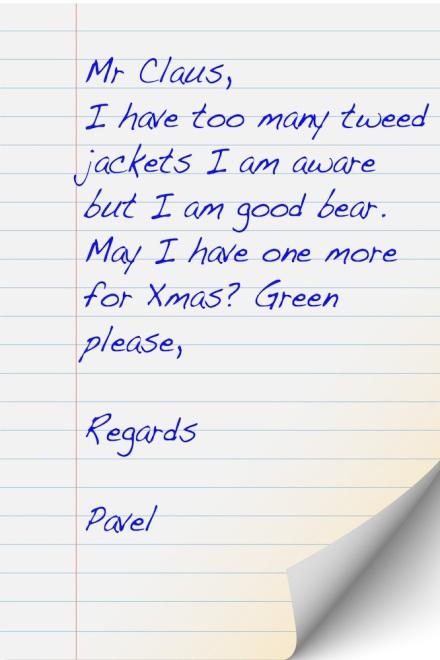 Pavel Letter