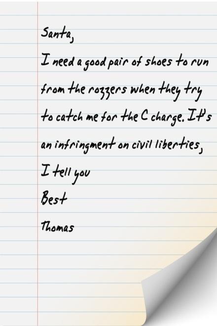 Thomas Letter