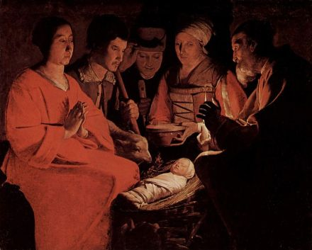 Georges de la Tour - Nativity