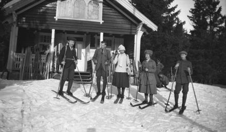 Bondehytta, Nittedal. Ca. 1918-1920